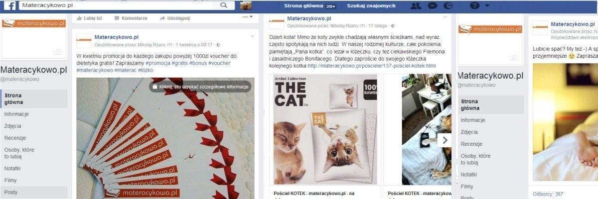 Aktualne promocje na fb