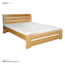 Łóżko bukowe LK192, LK182 Drewmax