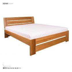 Łóżko dębowe LK292, LK282 Drewmax