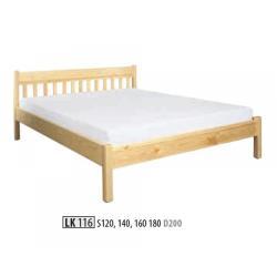 Łóżko sosnwe LK116 LK156
