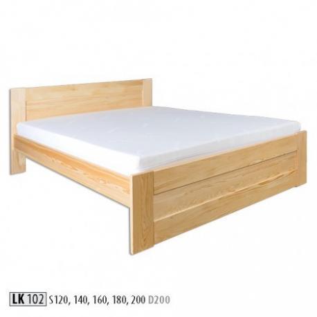 Łóżko sosnowe LK102 LK121