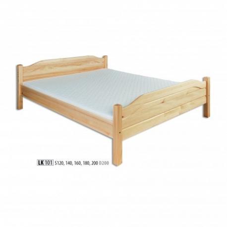 Łóżko sosnowe LK101 LK128