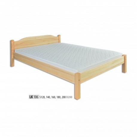 Łóżko sosnowe ŁS106 ŁS124