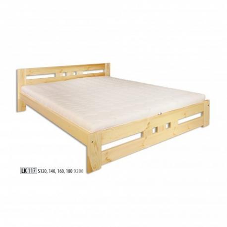 Łóżko sosnowe ŁS117 ŁS145