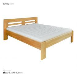 Łóżko bukowe LK111, LK160 Drewmax