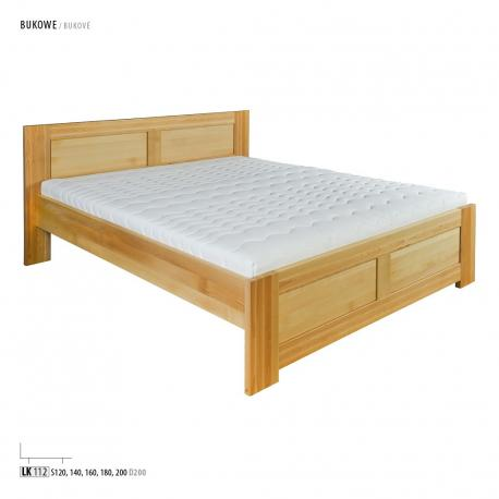 Łóżko bukowe LK112, LK161 Drewmax