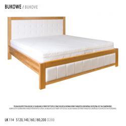 Łóżko bukowe LK114 Drewmax